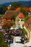 Old Vine Harvest 2015, Maribor, Slovenia Stock Image