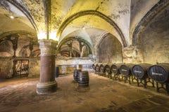 Old vinery in Eberbach. EBERBACH, GERMANY - JUNE 6, 2016: old vinery in Eberbach. The Abbey is a former Cistercian monastery near Eltville am Rhein in the Stock Photography