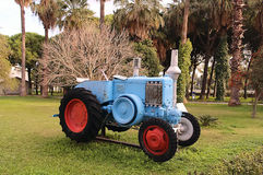 Old vintage agrimotor Stock Image
