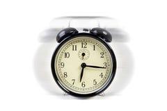 Old vintage alarm clock ringing Stock Photography