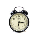 Old vintage alarm clock ringing Royalty Free Stock Image