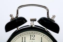 Old vintage alarm clock. stock images