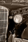 The old vintage american car Stock Photography