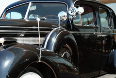 The old vintage american car Royalty Free Stock Images