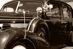 The old vintage american car Royalty Free Stock Photos