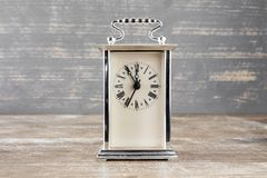Old vintage analogue clock Royalty Free Stock Photography