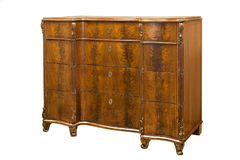 Old vintage antique chest of drawers on white background royalty free stock photography