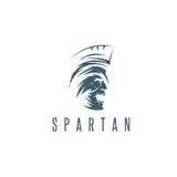 Old Vintage Antiques Spartan warrior grunge vector design Stock Photography