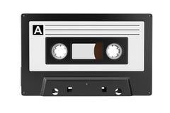 Old Vintage Audio Cassette Tape. 3d Rendering royalty free illustration