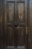 Old vintage austrain door of 19 century Stock Images