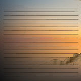 Old vintage background with stripes Royalty Free Stock Photography