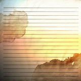 Old vintage background with stripes Royalty Free Stock Photo