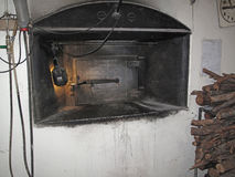 Old Vintage Bakery Oven Stock Image