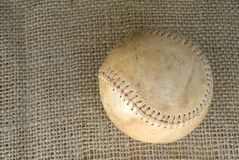 Old Vintage Baseball Royalty Free Stock Photos