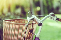 Old vintage bicycle Royalty Free Stock Photography