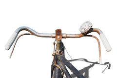 The old vintage bicycle Stock Photography