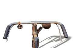 The old vintage bicycle Royalty Free Stock Photos