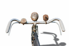 The old vintage bicycle Royalty Free Stock Photo