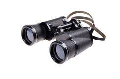 Old vintage binoculars Stock Image