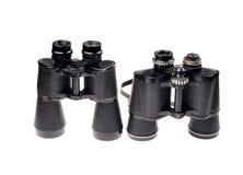 Old vintage binoculars Royalty Free Stock Image