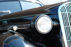 The old vintage black car Royalty Free Stock Photography