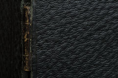 Old vintage black leather background Royalty Free Stock Photos
