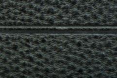 Old vintage black leather background Royalty Free Stock Images