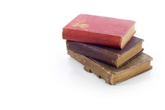 Old Vintage Book Stack Royalty Free Stock Photos