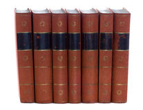 Old vintage books Royalty Free Stock Photography