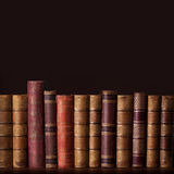 Old vintage books Royalty Free Stock Images