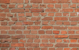 Old vintage brick wall Stock Photography