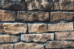 Old vintage brick wall. Background of old vintage brick wall Royalty Free Stock Photo
