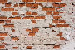 Old vintage brick wall Royalty Free Stock Photo