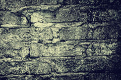 Old vintage brick wall for background Royalty Free Stock Photos