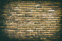Old vintage brick wall background and textures Stock Photos
