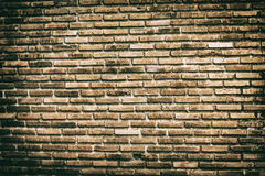 Old vintage brick wall background and textures Stock Photography
