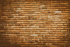 Old vintage brick wall background and textures Stock Images