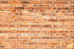 An old vintage brick wall Stock Image