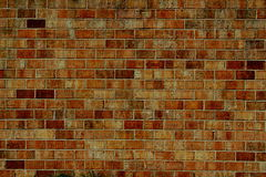 Old vintage brick wall texture background Royalty Free Stock Photos