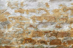 Old vintage brick wall texture Royalty Free Stock Image