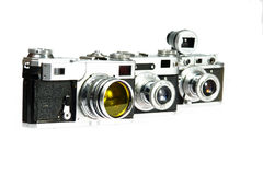 Old vintage camera Stock Photo