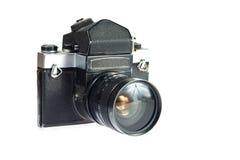 Old vintage camera Stock Images