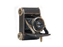 Old vintage camera Stock Images