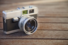 Old vintage camera Stock Image