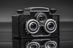 Old vintage camera Royalty Free Stock Image