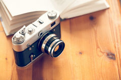 Old vintage camera Royalty Free Stock Photography