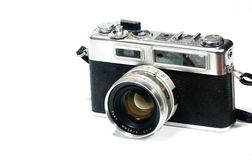 Old vintage camera Stock Photography
