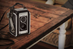 Old 1940 vintage camera Stock Photos