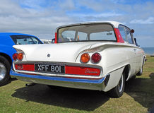 Old vintage capri classic. Photo of a old vintage classic capri appearing at whitstable outdoor car show on 16th july 2017 Stock Photography
