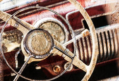 Old vintage car. Stock Photos
